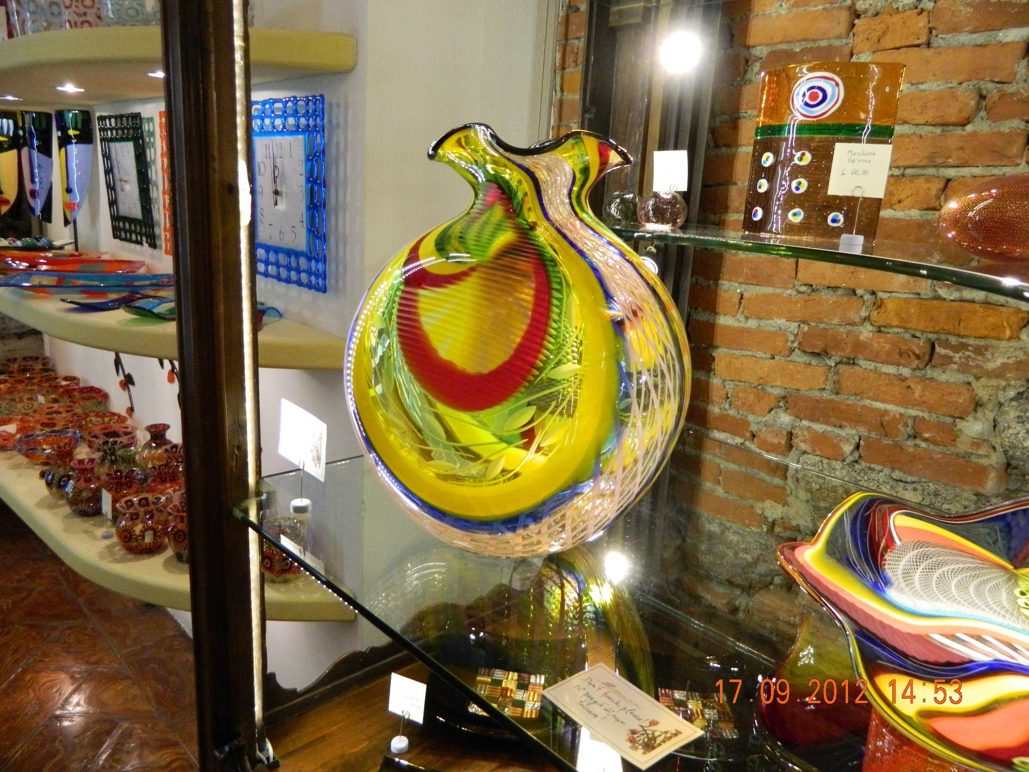Murano Glass in Bellagio
