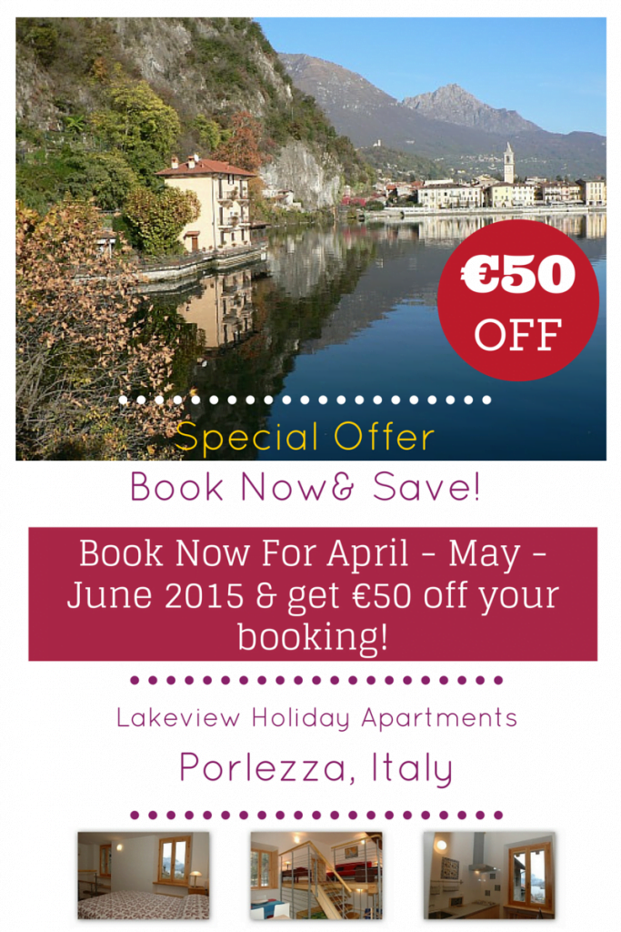 Special Offer: Book now, get €50 off your booking!